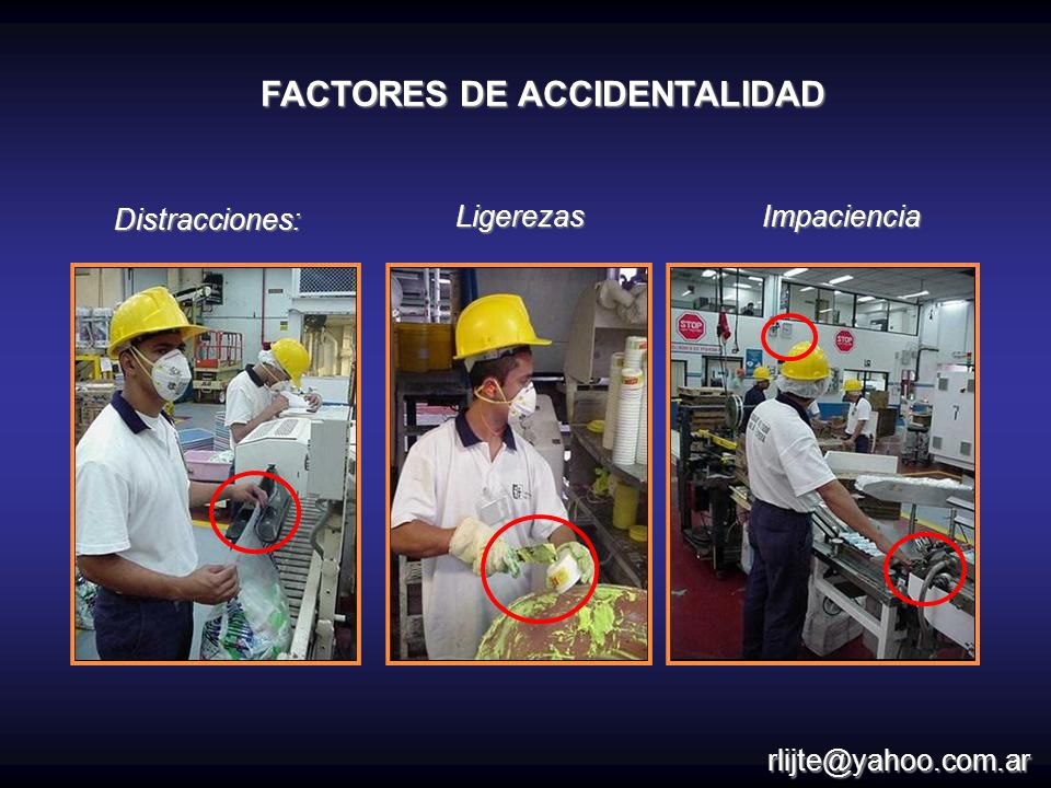 FACTORES DE ACCIDENTALIDAD