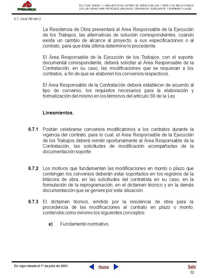 a) Fundamento normativo.