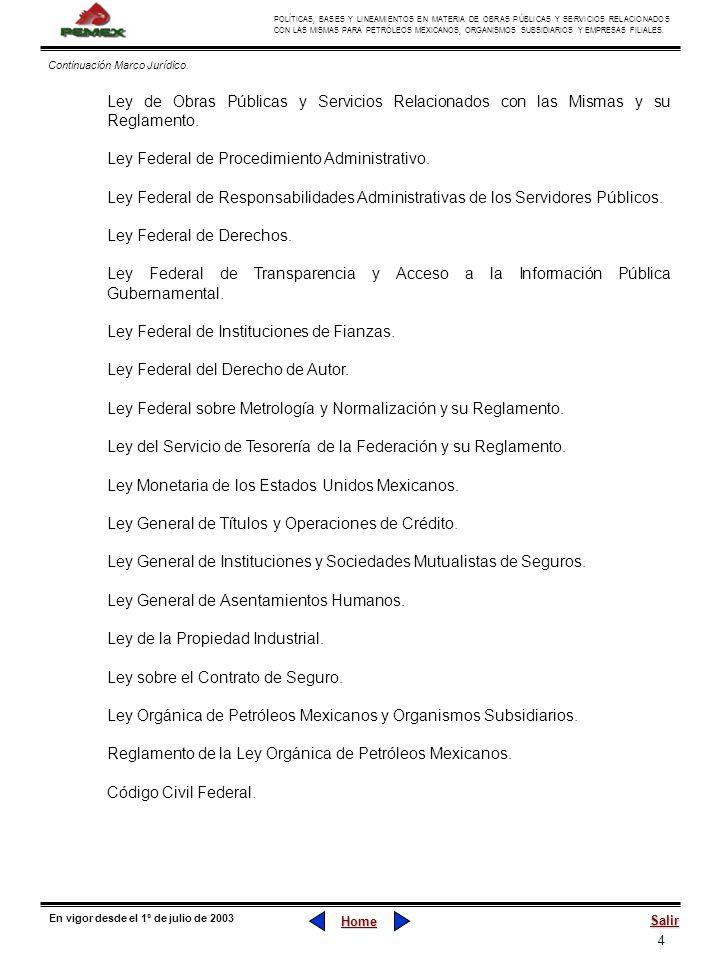 Ley Federal de Procedimiento Administrativo.