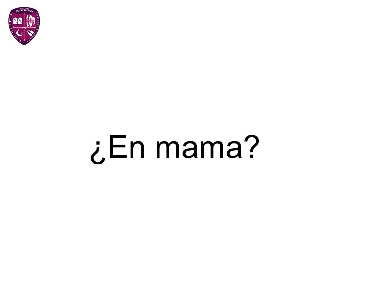 ¿En mama