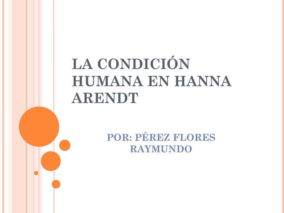 POR: PÉREZ FLORES RAYMUNDO