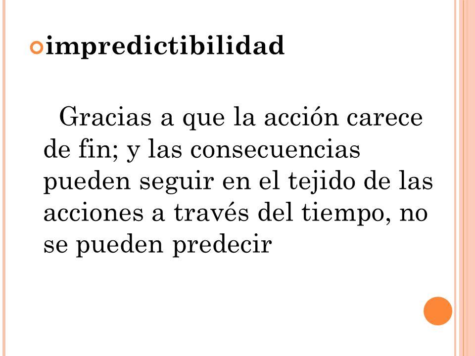 impredictibilidad