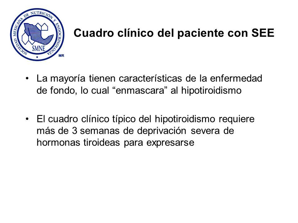Cuadro clínico del paciente con SEE