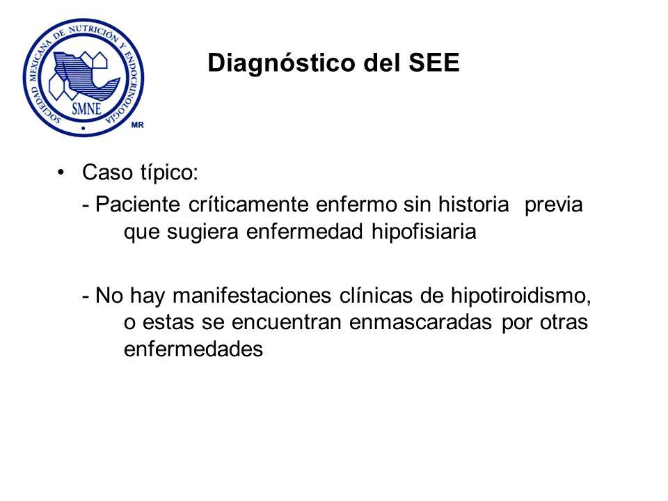 Diagnóstico del SEE Caso típico:
