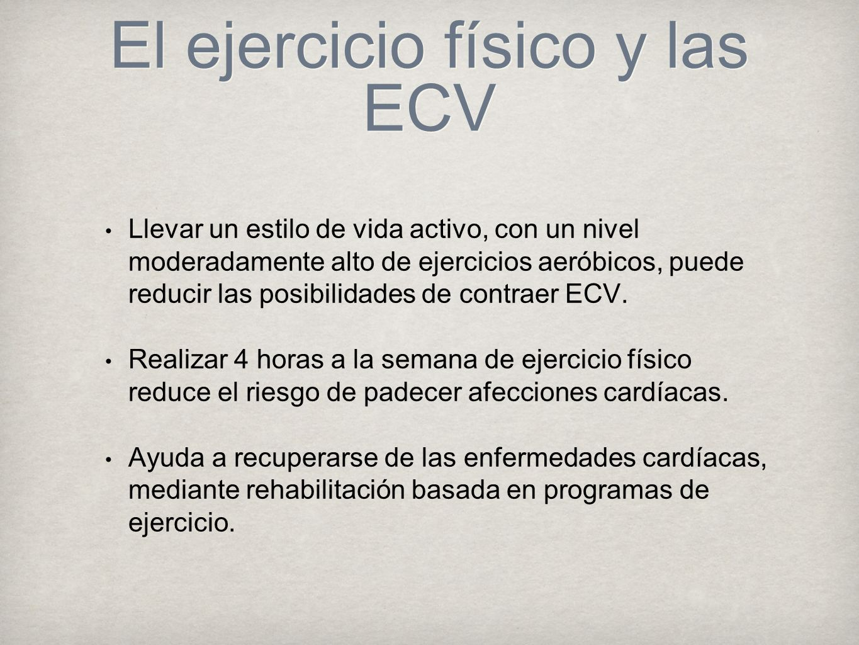 El ejercicio físico y las ECV