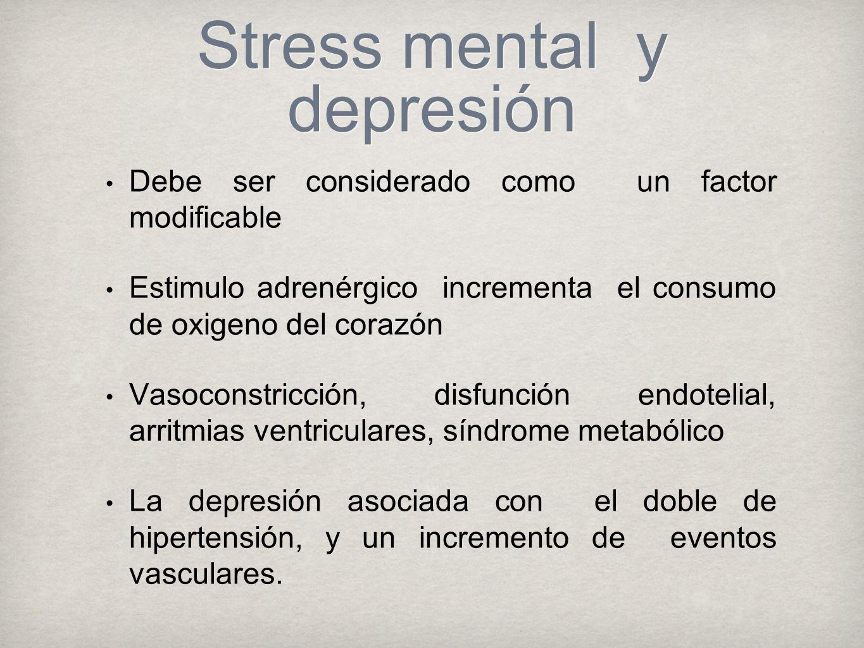 Stress mental y depresión
