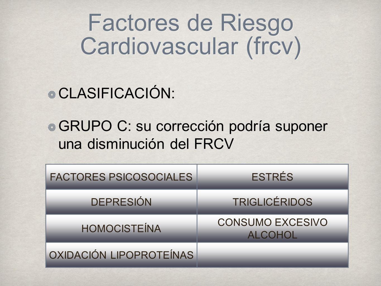 Factores de Riesgo Cardiovascular (frcv)