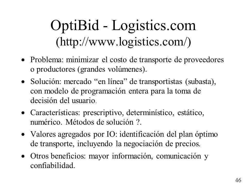 OptiBid - Logistics.com (http://www.logistics.com/)