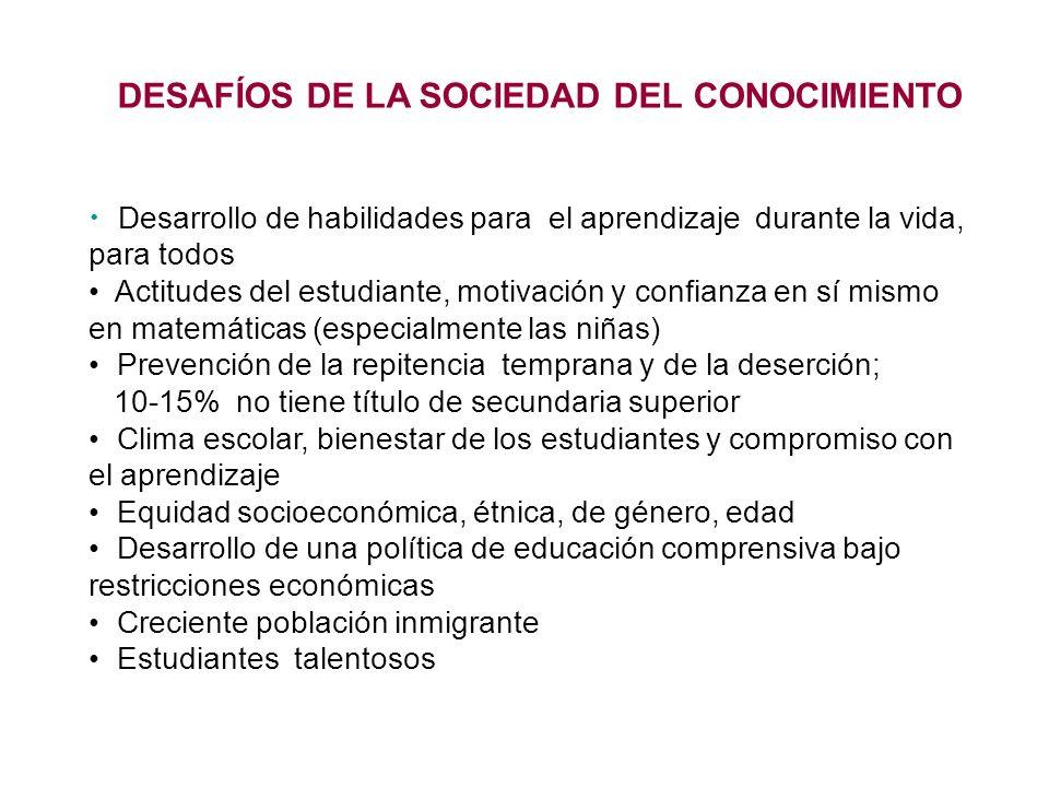 DESAFÍOS DE LA SOCIEDAD DEL CONOCIMIENTO