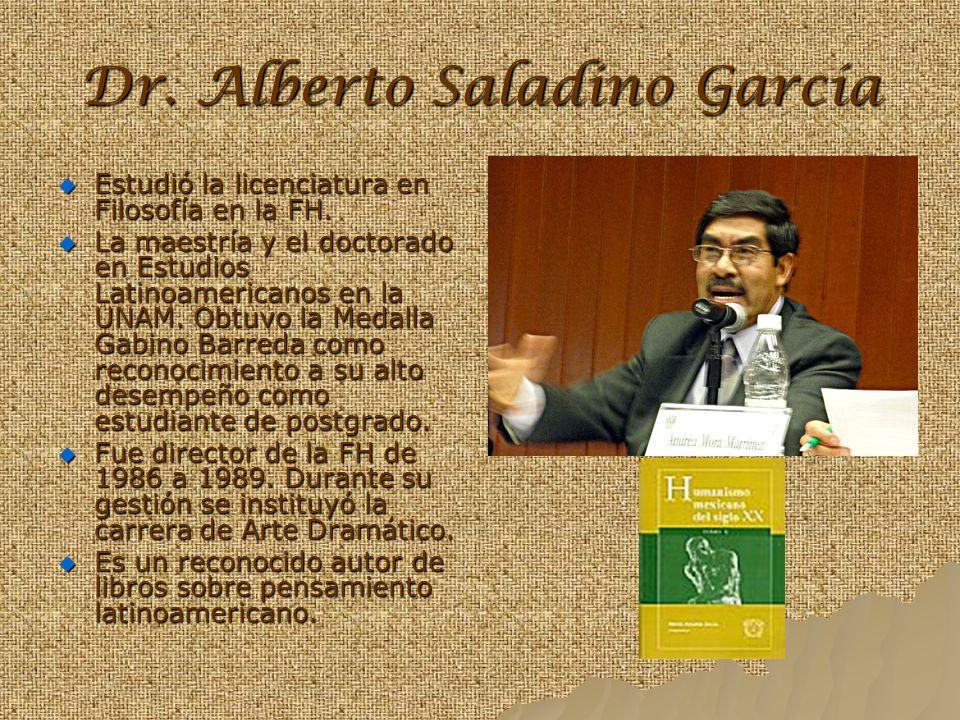 Dr. Alberto Saladino García