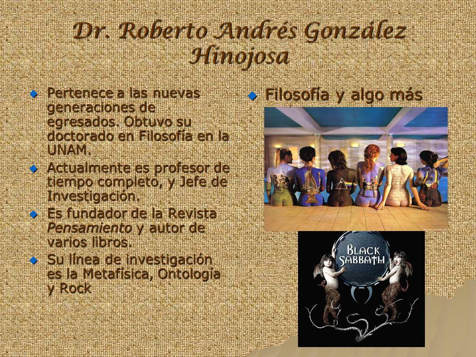Dr. Roberto Andrés González Hinojosa