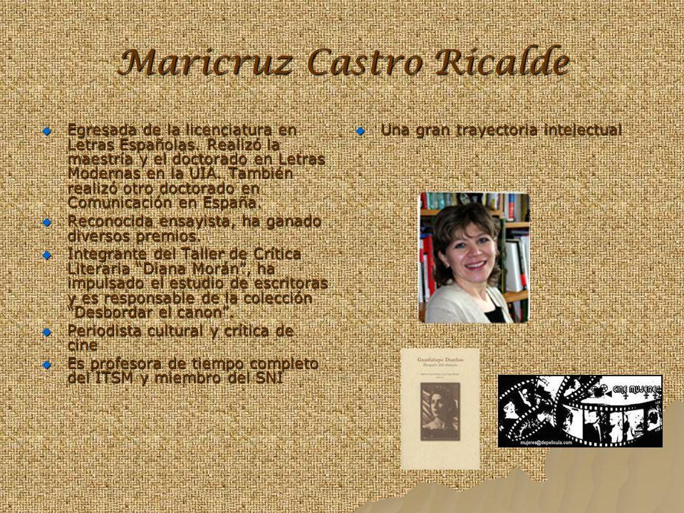Maricruz Castro Ricalde
