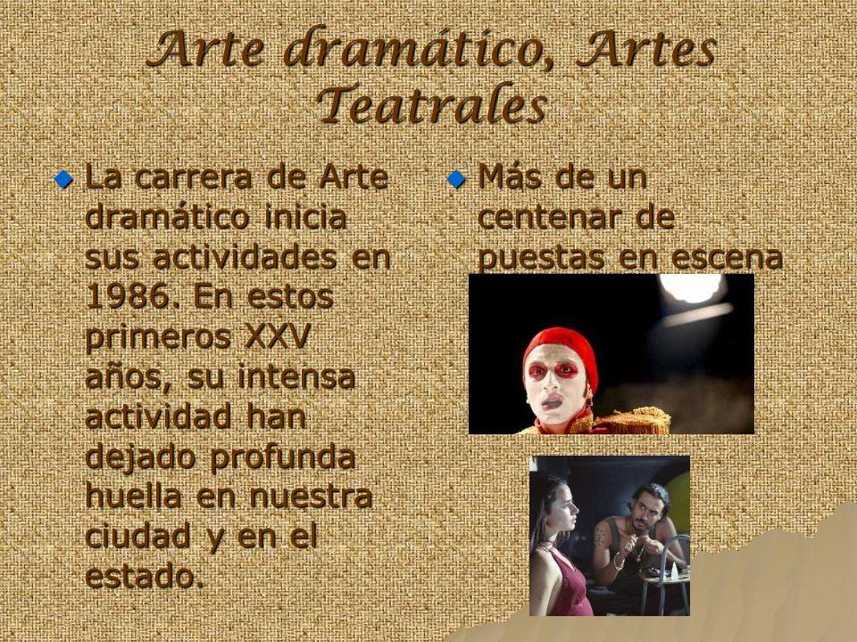 Arte dramático, Artes Teatrales
