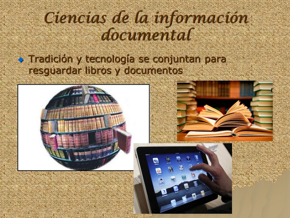Ciencias de la información documental