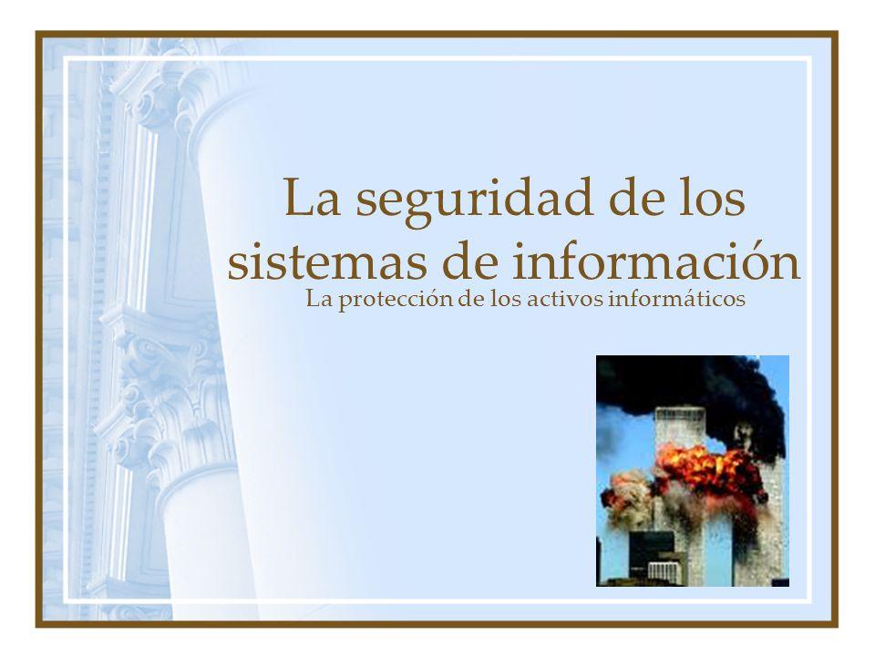 La seguridad de los sistemas de información