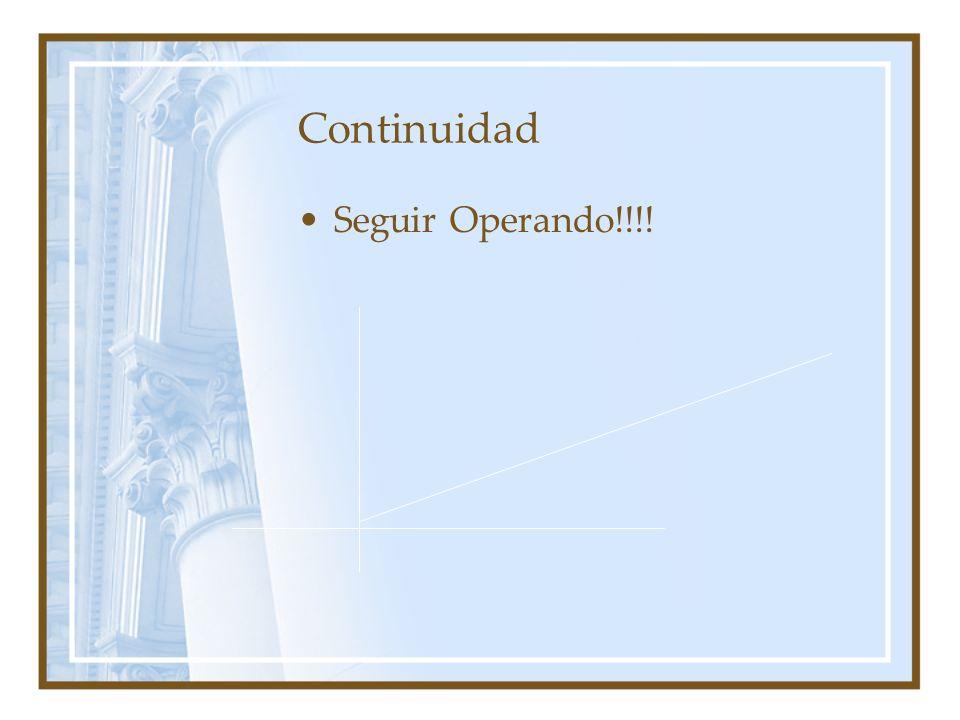 Continuidad Seguir Operando!!!!