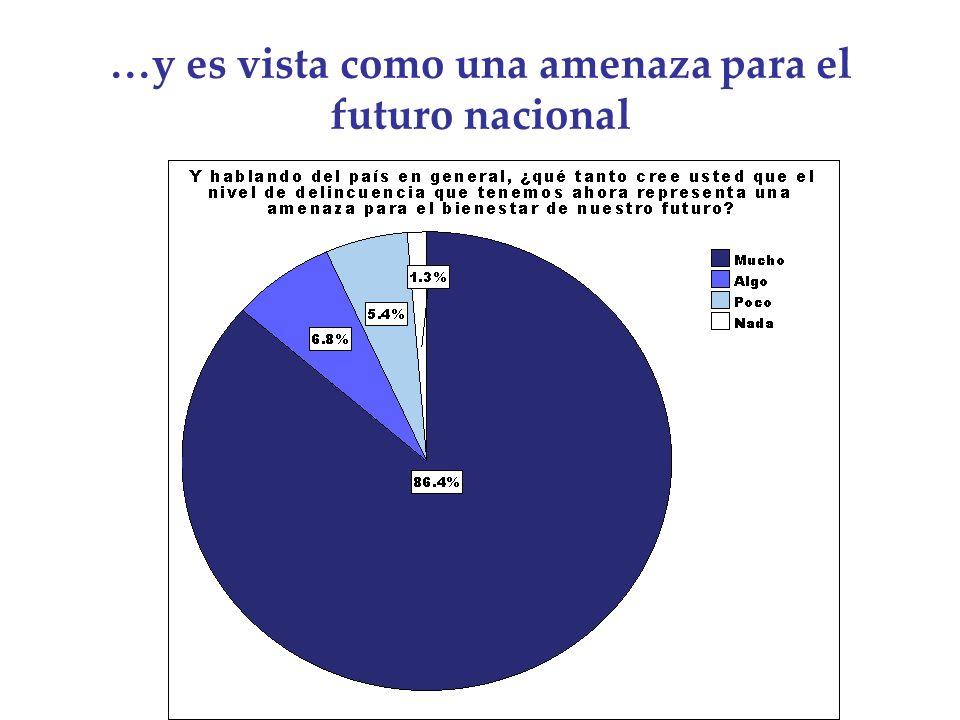 …y es vista como una amenaza para el futuro nacional