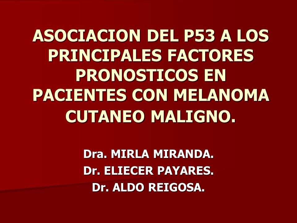 Dra. MIRLA MIRANDA. Dr. ELIECER PAYARES. Dr. ALDO REIGOSA.