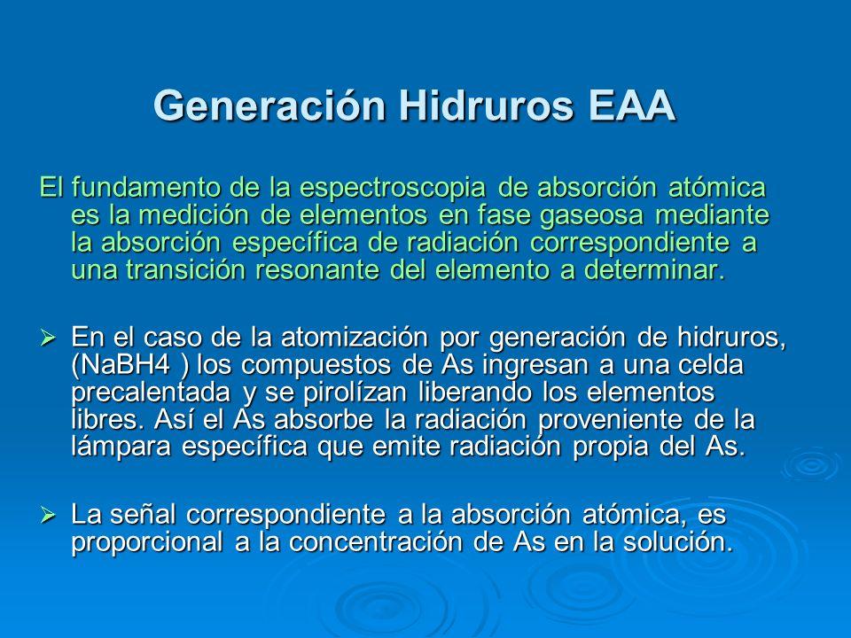 Generación Hidruros EAA