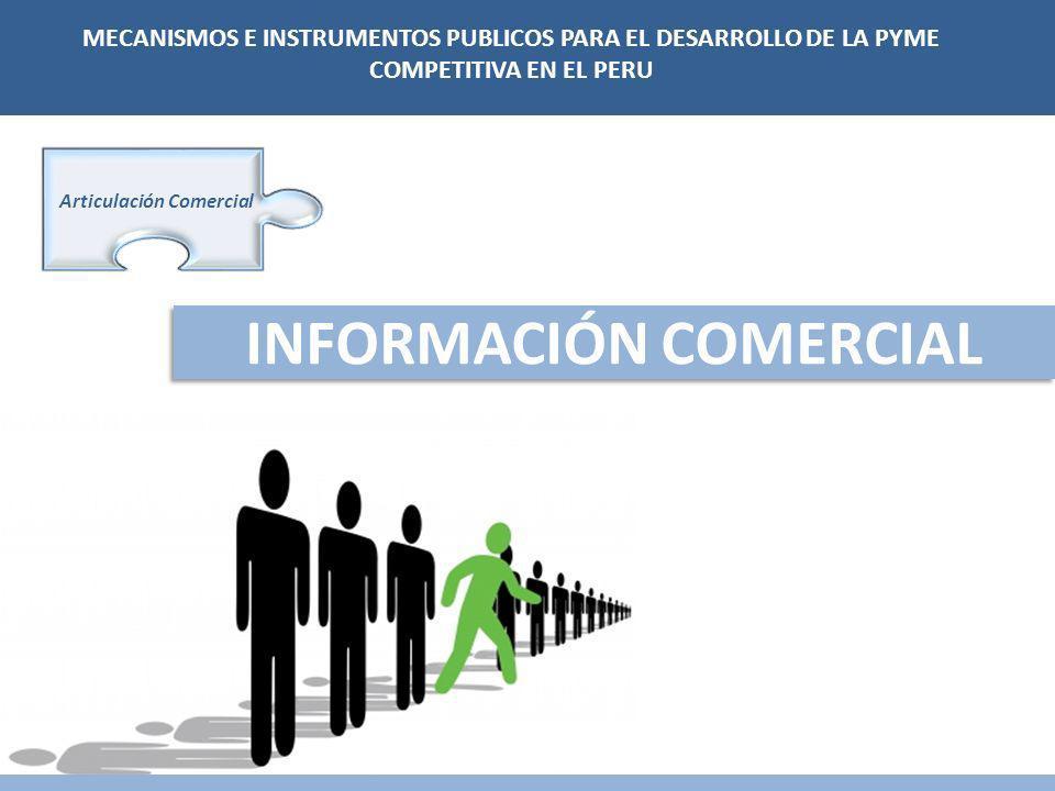 Articulación Comercial INFORMACIÓN COMERCIAL