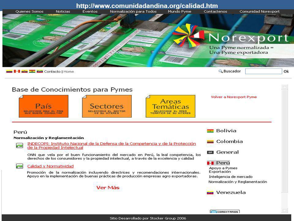 http://www.comunidadandina.org/calidad.htm