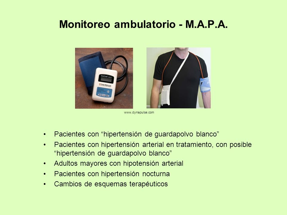 Monitoreo ambulatorio - M.A.P.A.