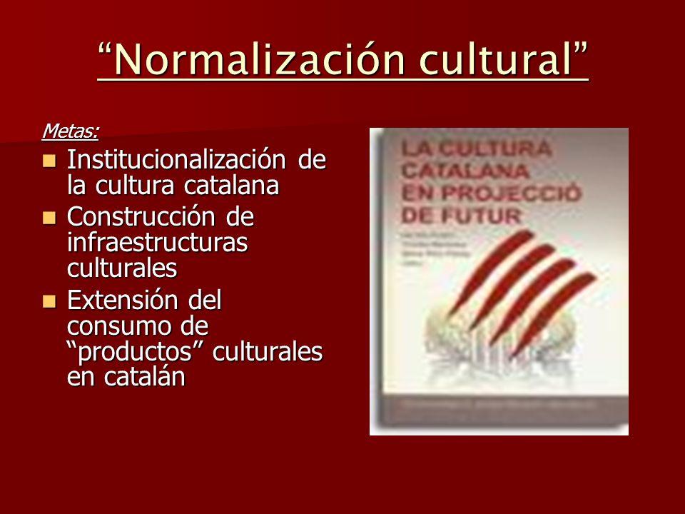Normalización cultural