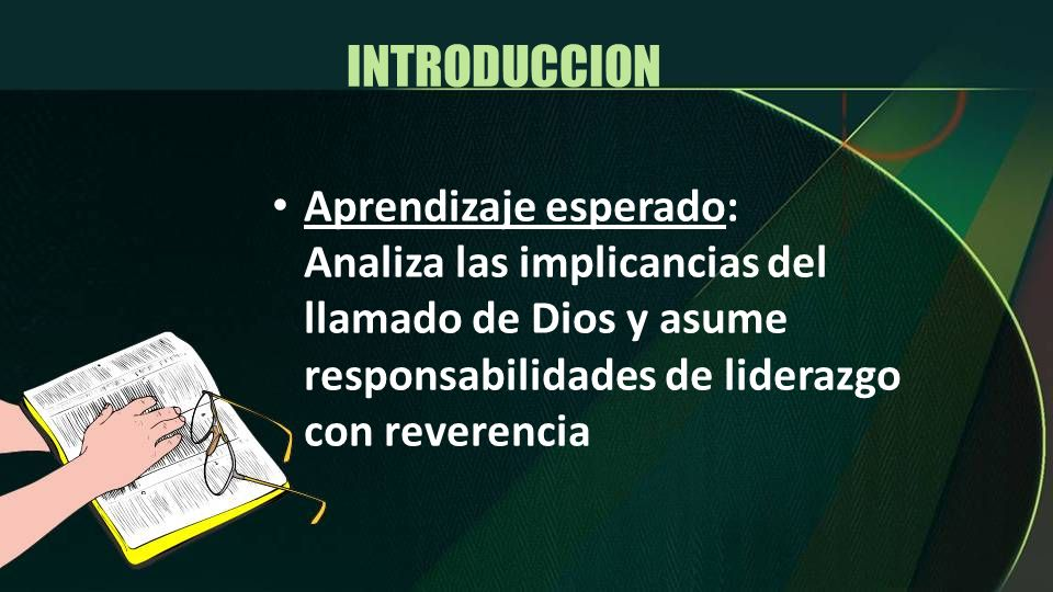 INTRODUCCION Aprendizaje esperado: