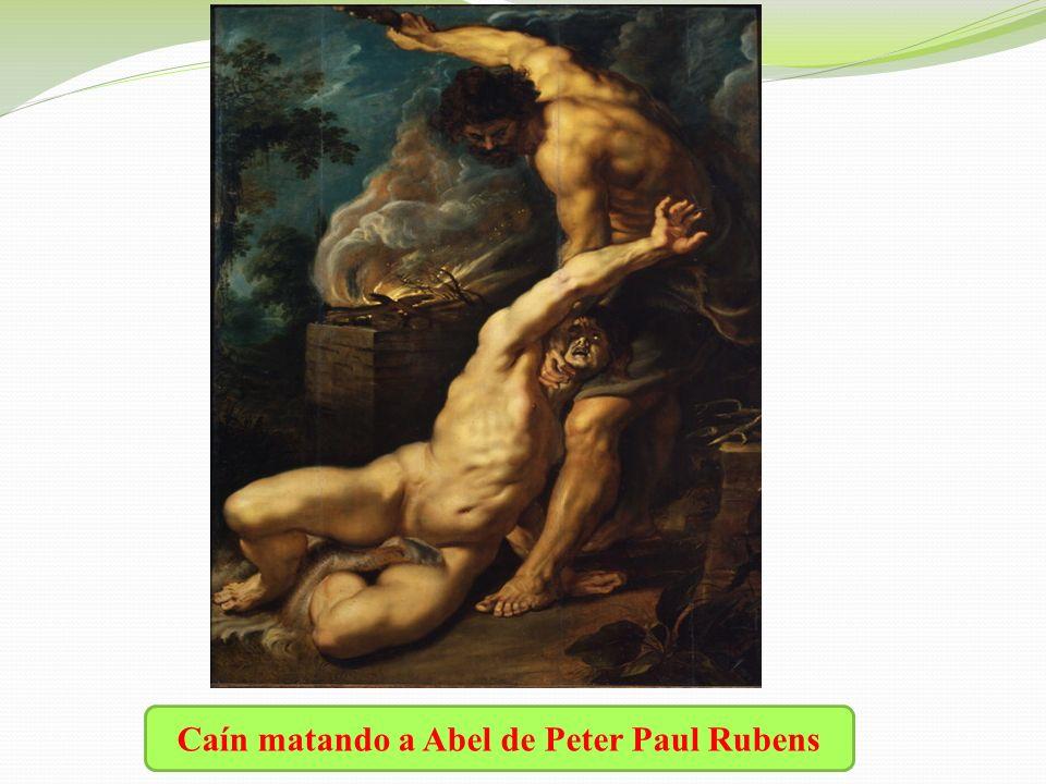 Caín matando a Abel de Peter Paul Rubens