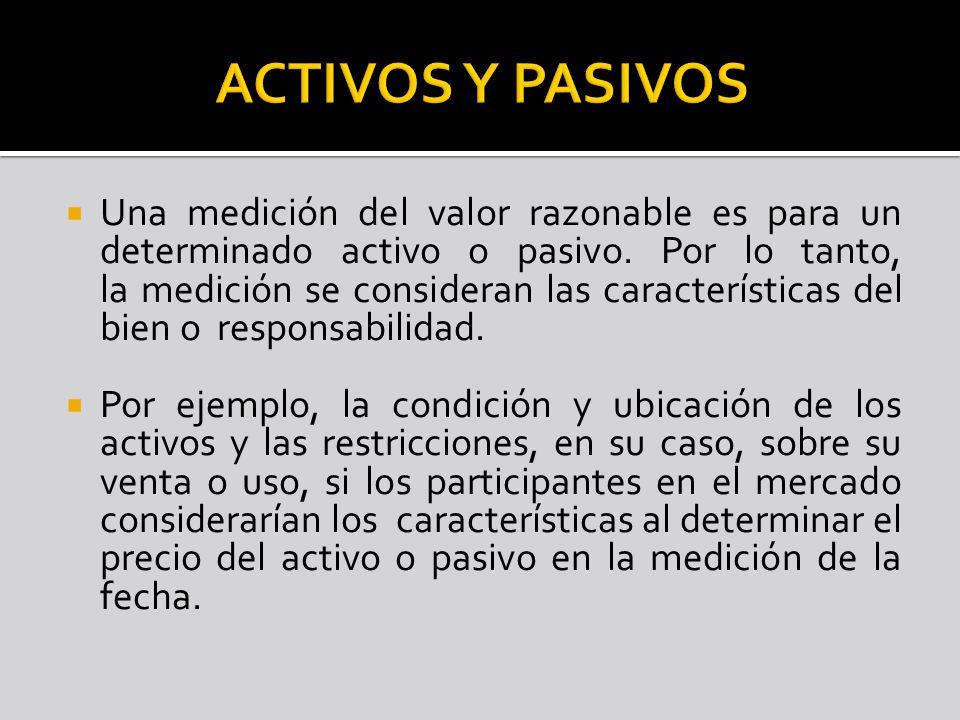 ACTIVOS Y PASIVOS