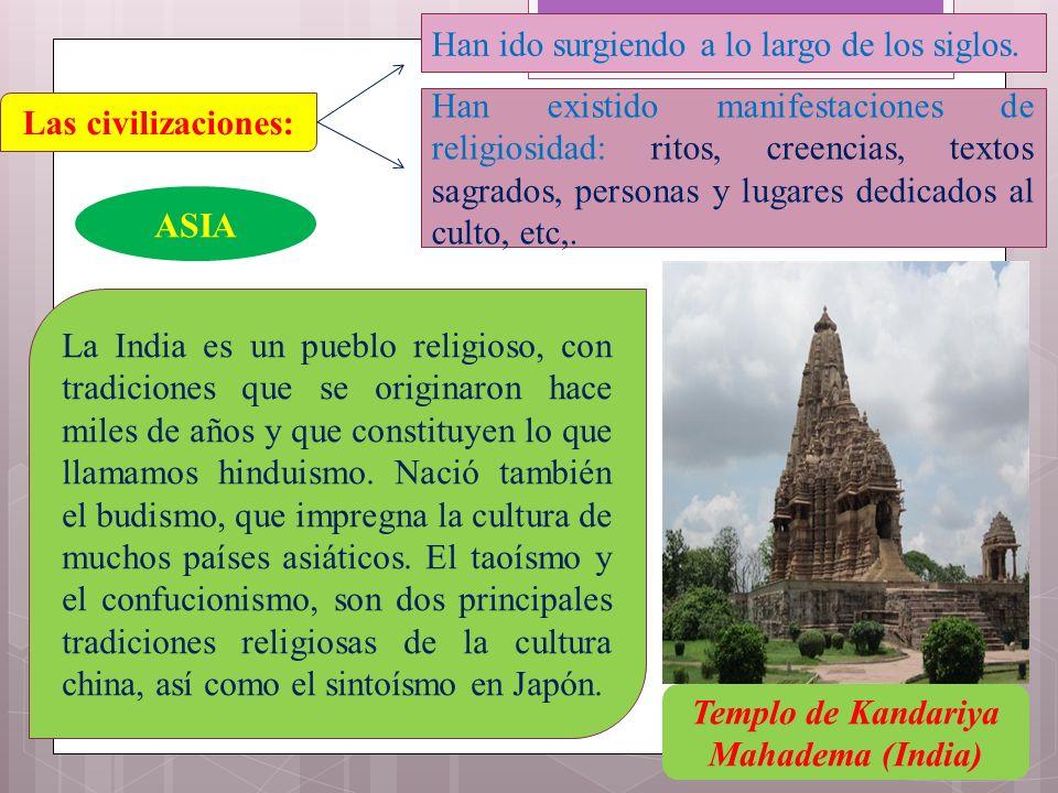 Templo de Kandariya Mahadema (India)