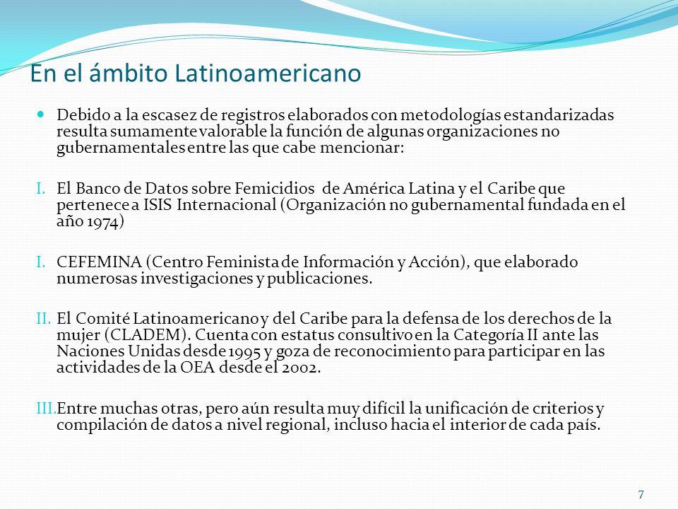En el ámbito Latinoamericano