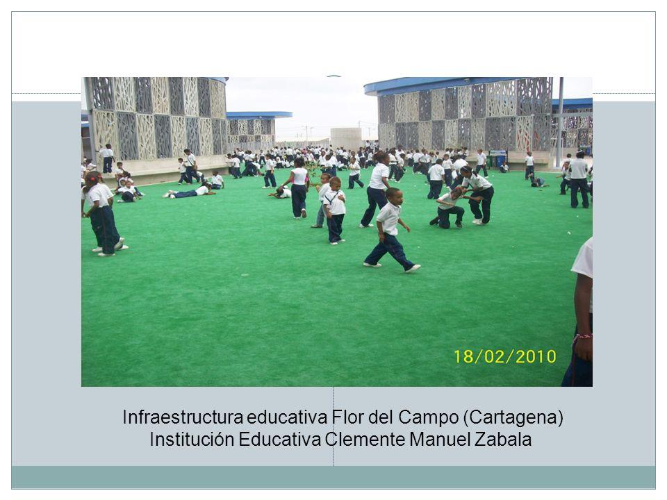 Infraestructura educativa Flor del Campo (Cartagena)