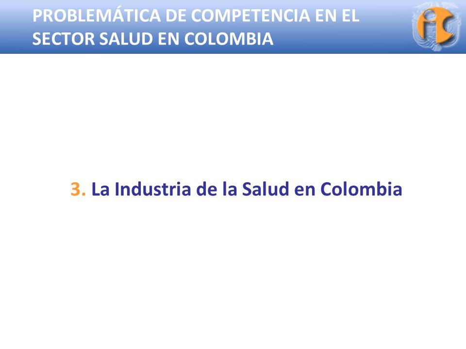 3. La Industria de la Salud en Colombia