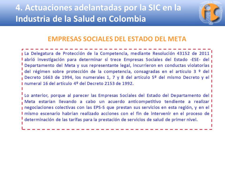 EMPRESAS SOCIALES DEL ESTADO DEL META