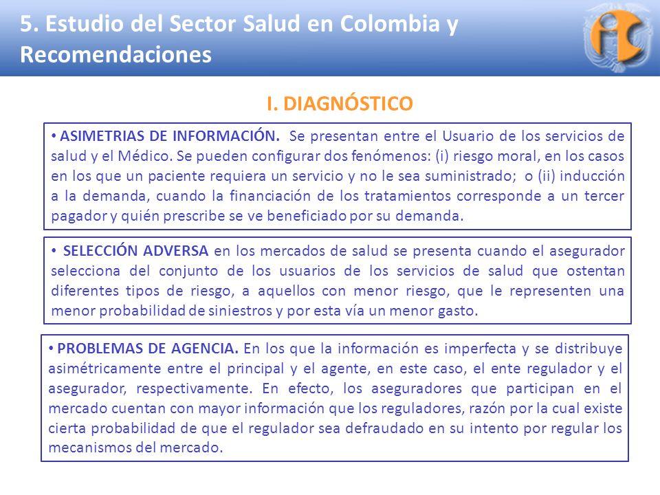 5. Estudio del Sector Salud en Colombia y Recomendaciones