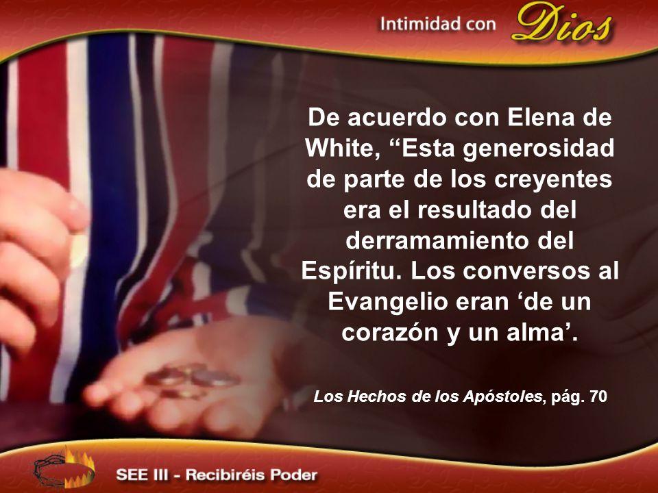 Los Hechos de los Apóstoles, pág. 70