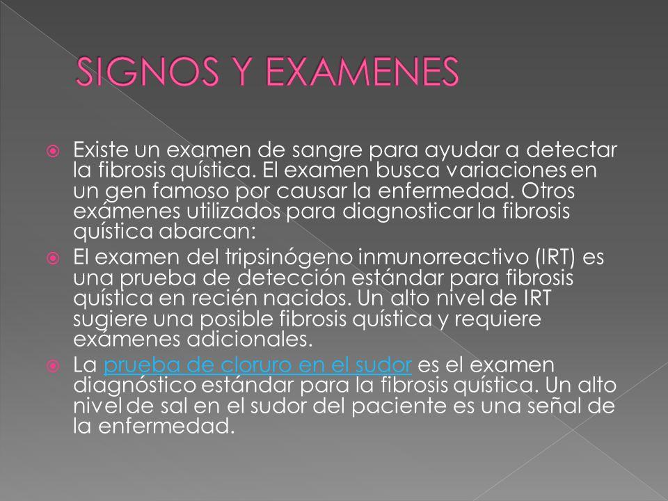 SIGNOS Y EXAMENES