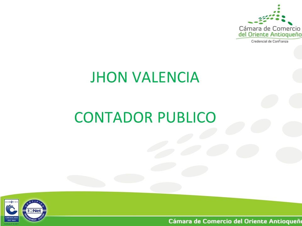 JHON VALENCIA CONTADOR PUBLICO