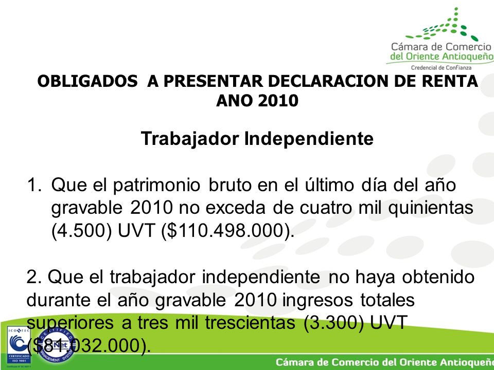 Trabajador Independiente