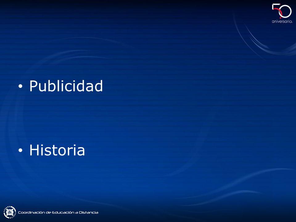 Publicidad Historia