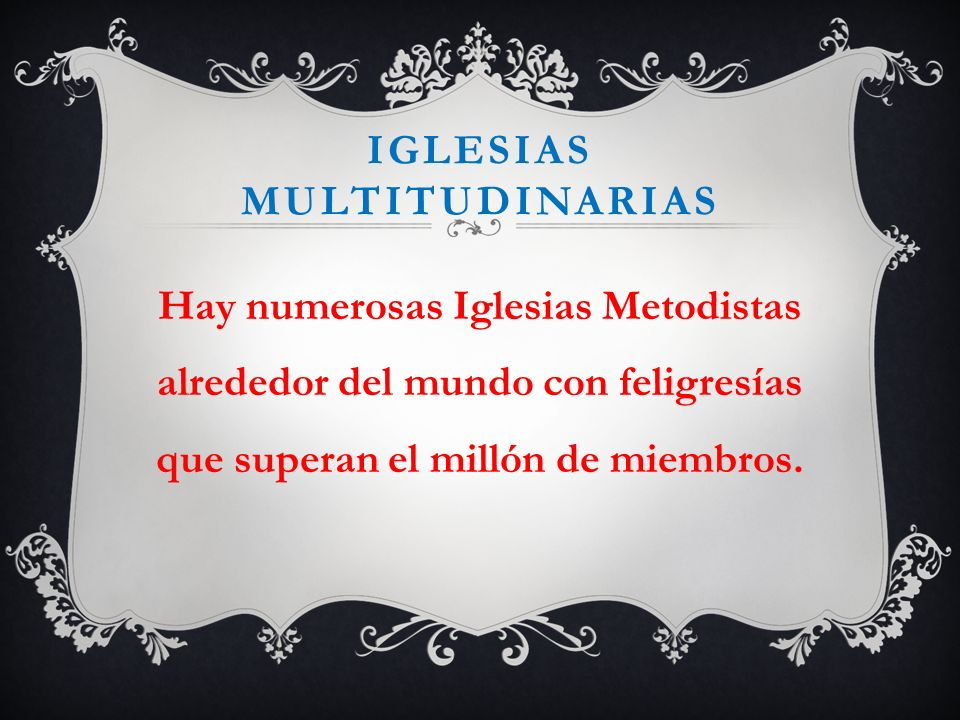 Iglesias multitudinarias