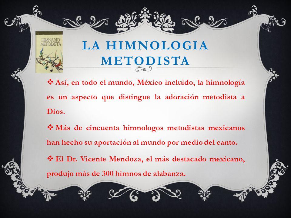La himnologia metodista