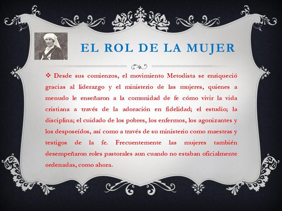 EL ROL DE LA MUJER