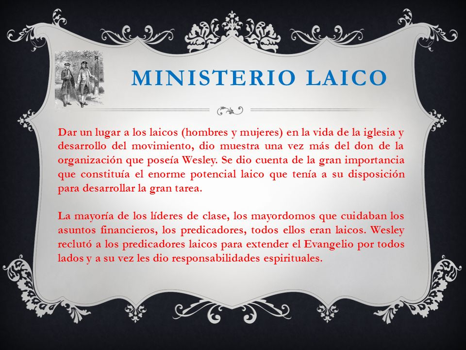 Ministerio laico