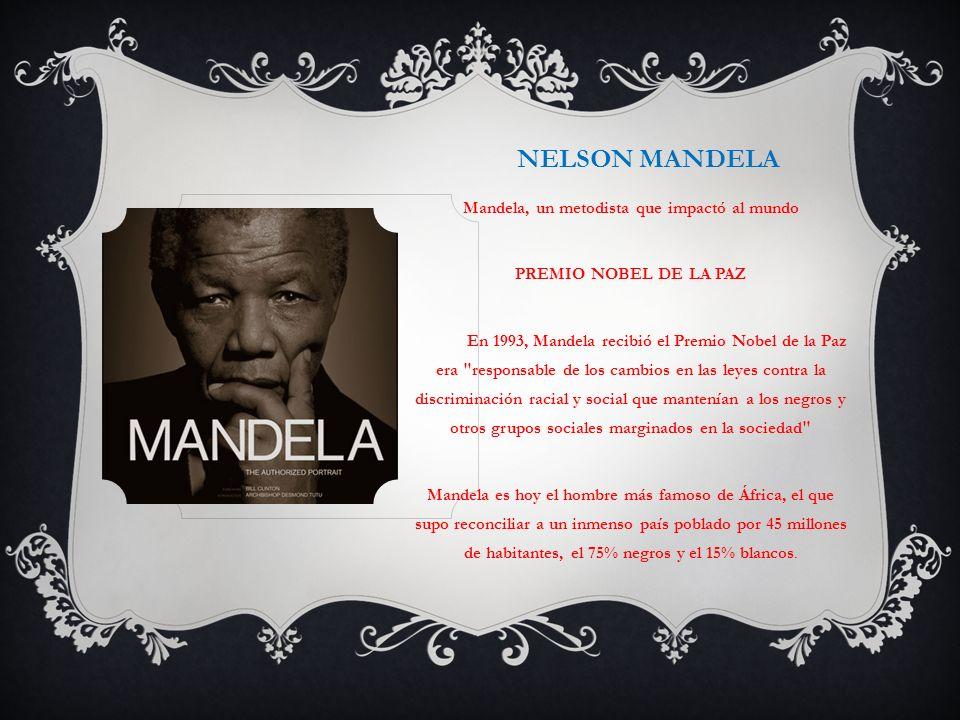 Mandela, un metodista que impactó al mundo