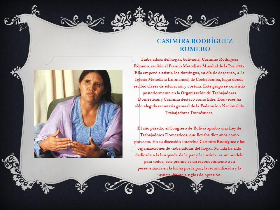 Casimira Rodríguez Romero