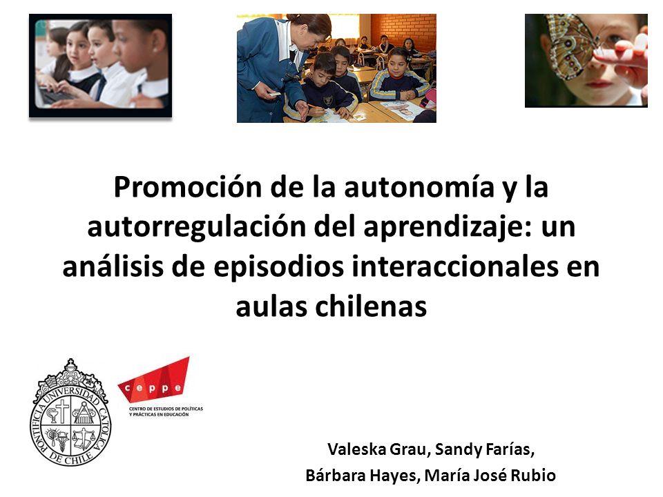 Valeska Grau, Sandy Farías, Bárbara Hayes, María José Rubio