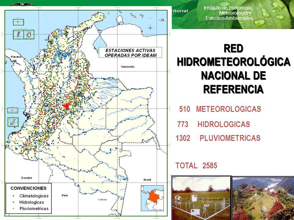 RED HIDROMETEOROLÓGICA NACIONAL DE REFERENCIA