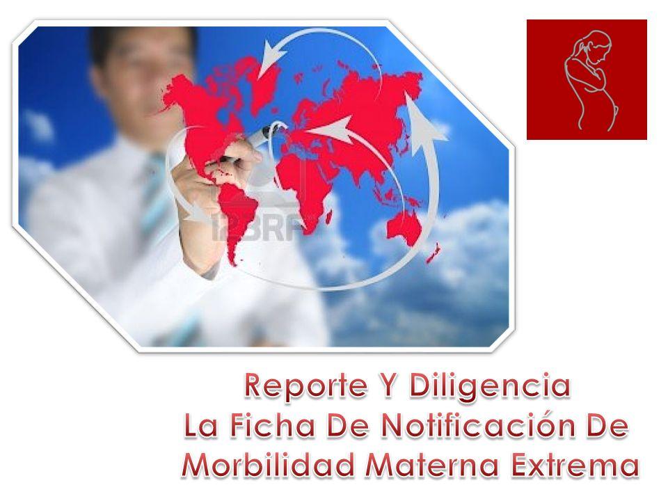 La Ficha De Notificación De Morbilidad Materna Extrema